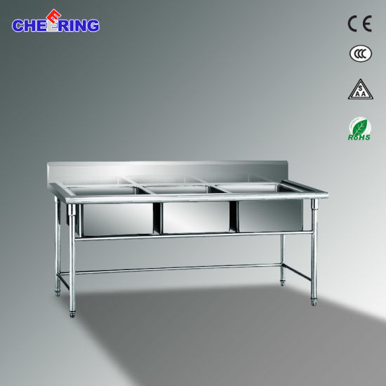 China 3 Bowl Corner Kitchen Sink Commercial New Kitchen Sinks For Sale China Wash Basin Basin
