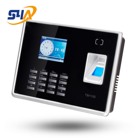 TM1100 2.4inch 1000 Users Biometric Time Attendance with USB