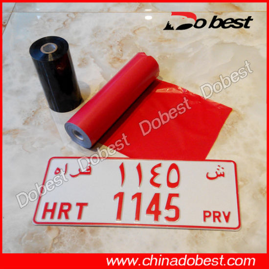 Hot Stamping Film for License Plate