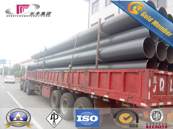 ERW Welded Steel Pipe for Gas/Oiled/Water/Construction