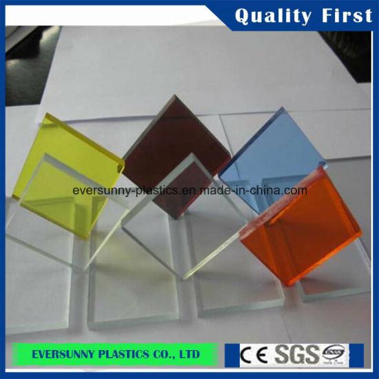 China Crystal/Clear Transparent Color Acrylic Sheet - China Acrylic ...