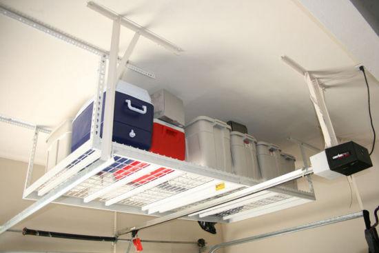 Ceiling Storage Rack Organize Garage
