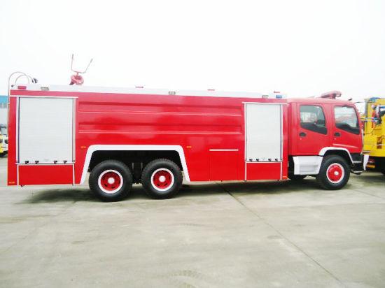 Isuzu 15t Fvz Fire Fighting Truck Factory Slae