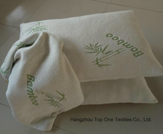 Hotel Bamboo Shredded Memory Foam Pillow Queen Size pictures & photos