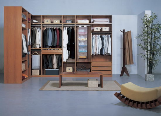 Laminated MDF Walk in Closet (#BF7)