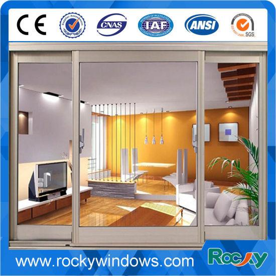 China Rocky French Style Aluminum Sliding Window China Doors And