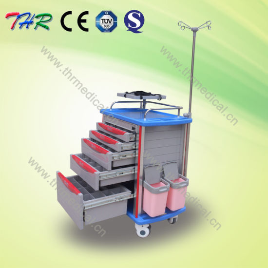 Medical Multi-Function Emergency Cart (THR-ET-8500IA) pictures & photos