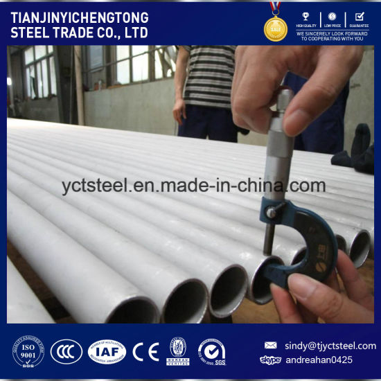 Annealed Pickling Tp316L Stainless Seamless Steel Pipe Sch40 pictures & photos