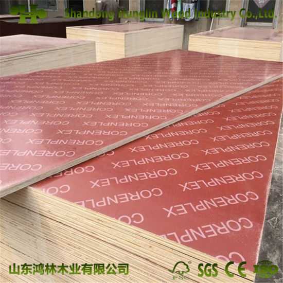 China Custom Size Film Faced Plywood for Shuttering Concrete