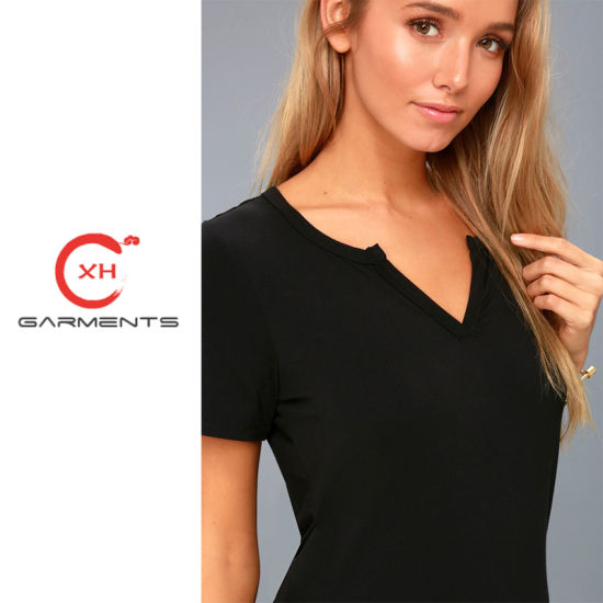 Xh Garments Provide Quality Women T Shirt pictures & photos