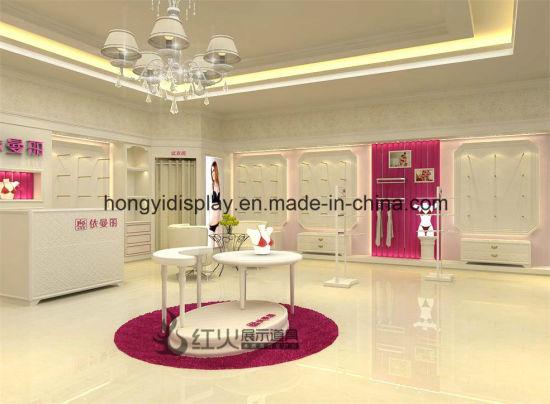 Ladies Underwear Shop Interior Decoration, Retail Display