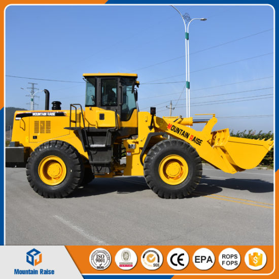 China Road/Construction Machine 5ton Loader Zl50 Front End Wheel Loader Price pictures & photos