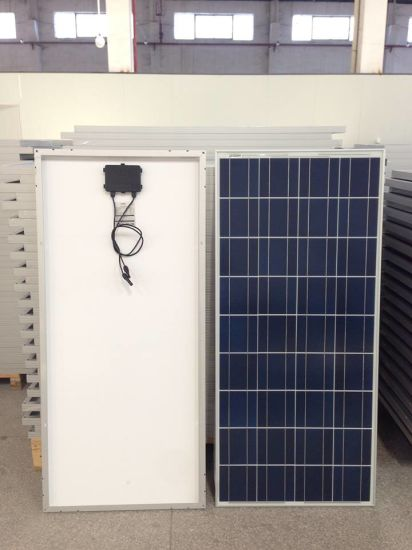 Cheap Price 150W High Efficiency Polycrystalline Solar Panel with Aluminum Alloy Frame pictures & photos