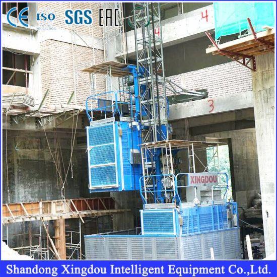 High-Rise Building Construction Hoist with Inverter Sc100/100