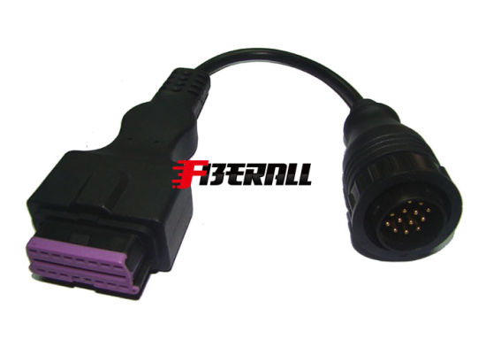China Mb Conversion Cable Obdiif Gourd Head Benz 14p Male Sprinter