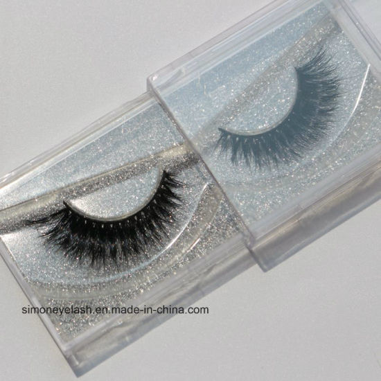 Natural Crisscross Mink Fur Lashes Handmade Soft False Eyelash pictures & photos