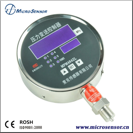 High Accuracy Mpm484A/Zl Pressure Transmitting Controller for Water pictures & photos