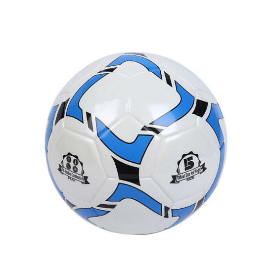 PU Leather Laminated Water Proof Soccer Ball Match Football Training