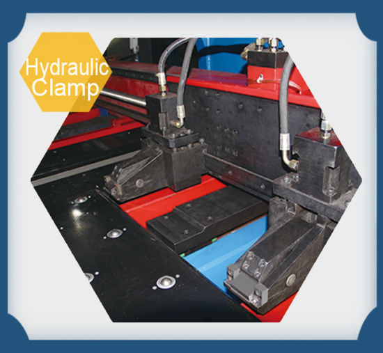 Hydraulic Thick Plate Punch Press Machinery pictures & photos