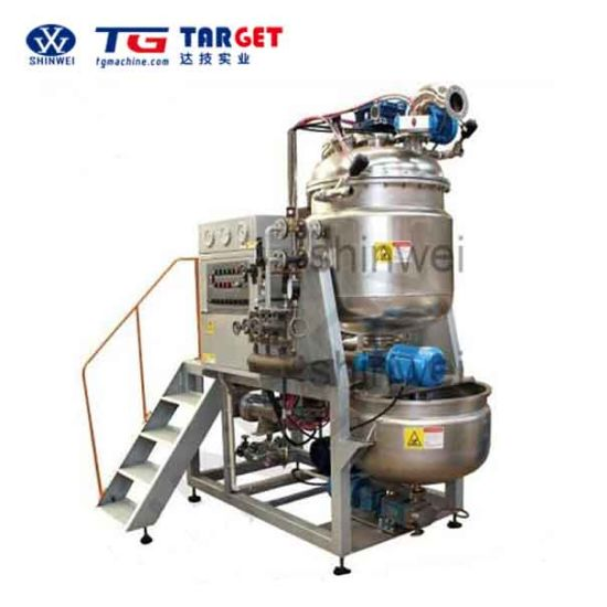 Stainless Steel Toffee Candy Mass Cooker with Ce Certification