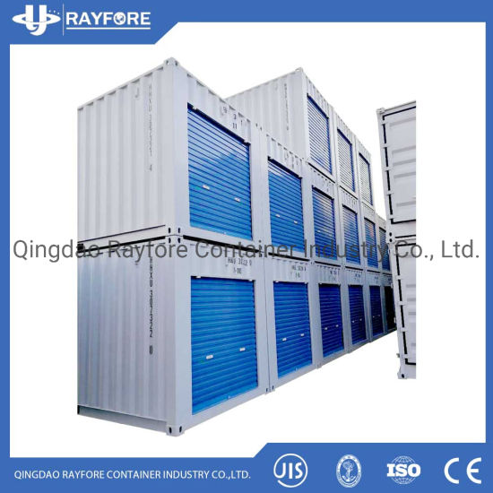 Qingdao Factory Customized Shipped to Europ and Japan Shutter roller Door Storage Container