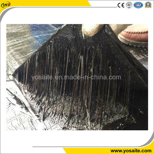 Non-cured Self-healing Rubberized Bitumen Waterproof Coating for Undergrounds or Roofs