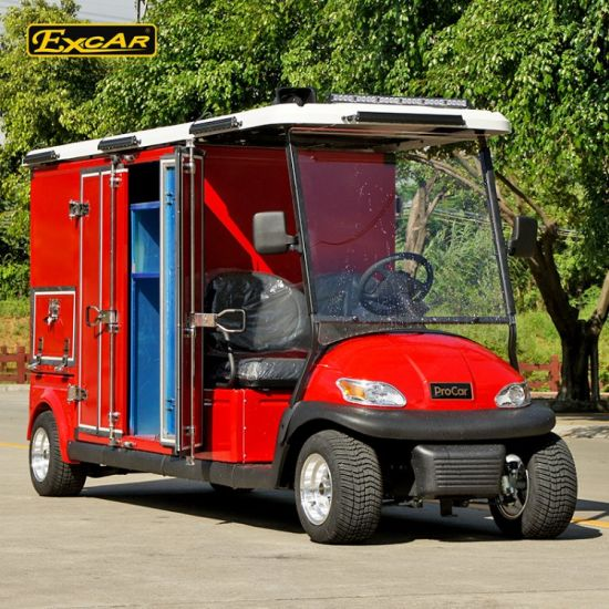 China Excar 2 Seats Electric Fire Fighting Cart Ce Approved - China on electric golf cart skateboard, electric golf cart bus, electric golf cart racing,