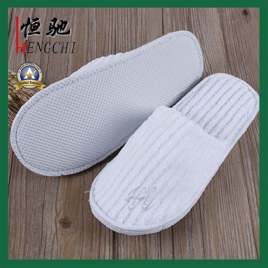 a769d0735cf1 China Factory Made Disposable Men Plush EVA Slipper - China Slipper ...