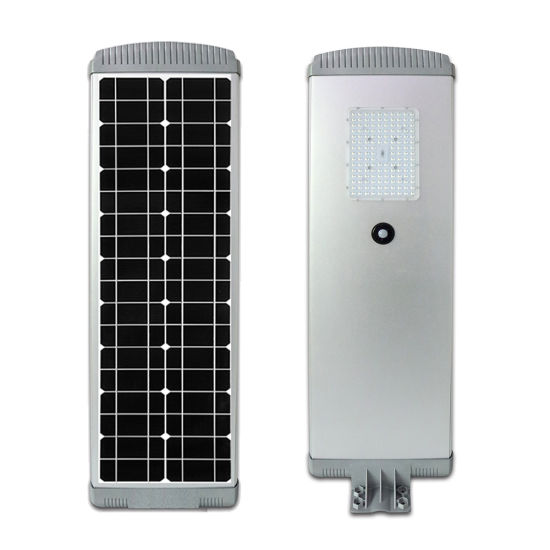 30W 60W Outdoor Waterproof MPPT Controller Solar Powered LED Street Lamp