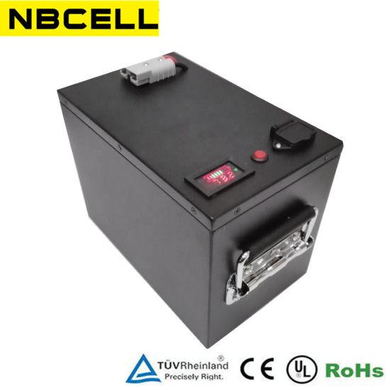 Deep Cycle 12V/48V 100ah/200ah Lithium Solar/Car LiFePO4 Storage Battery Pack for Electric Vehicle Bicycle Marine RV UPS
