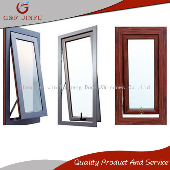 China Thermal Breaking Aluminium Awning Storm Window with Double ...