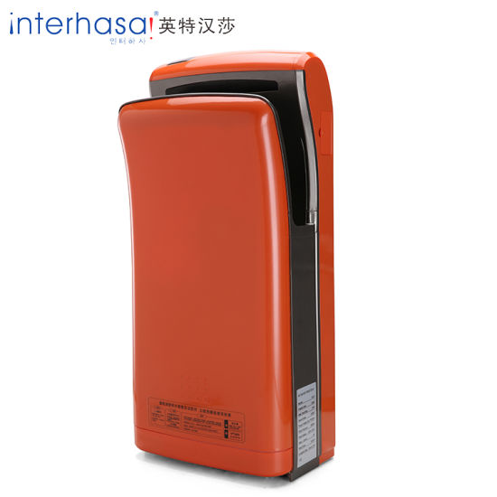 China Strongr Wind Speed New Style Elegant Double Air Jet Hand Dryer Stunning Bathroom Hand Dryers Style