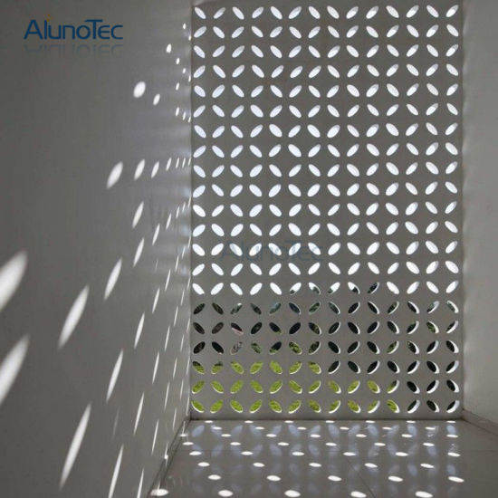 China External Curtain Wall Sheet Decorative Aluminum