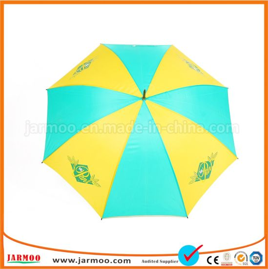 Advertising Pongee Fabric Golf Umbrella Extension pictures & photos