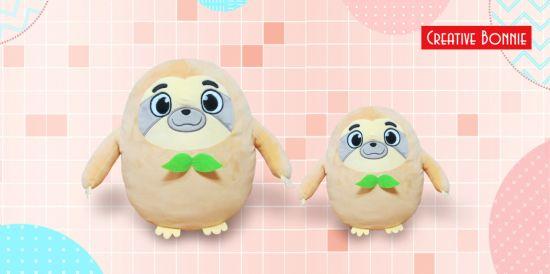 Cute Toys Ball Brown Sloth Stuffed Plush