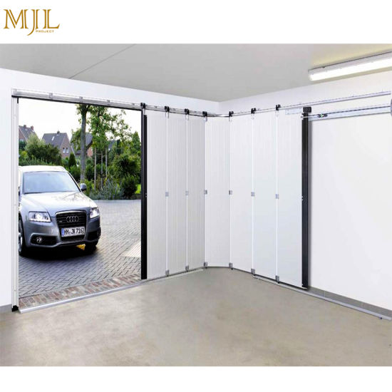China New Designs America Market Prices Aluminum Glass Garage Doors