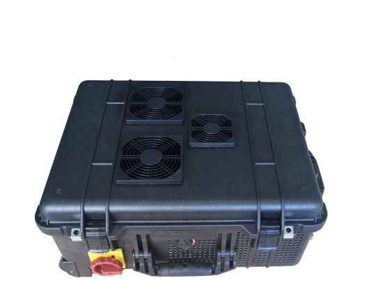 High Power Draw Bar Box 8 Channels Mobile Signal Jammer 200W up to  300 Meters pictures & photos