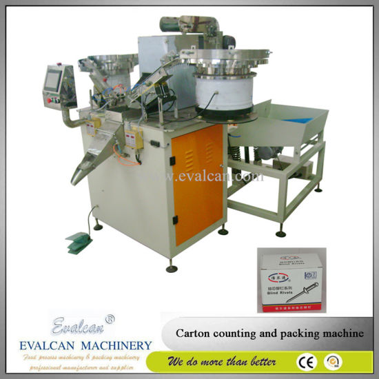Automatic Flat Washer, Wood Screw, Nut Bolt Counting Packing Machine pictures & photos