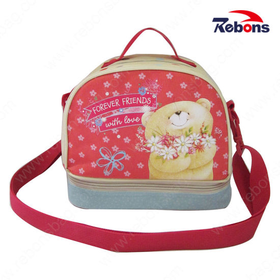 e89d382da066 Customized Wholesale Printed Lunch Bags with Adjustable Shoulder Strap  pictures   photos