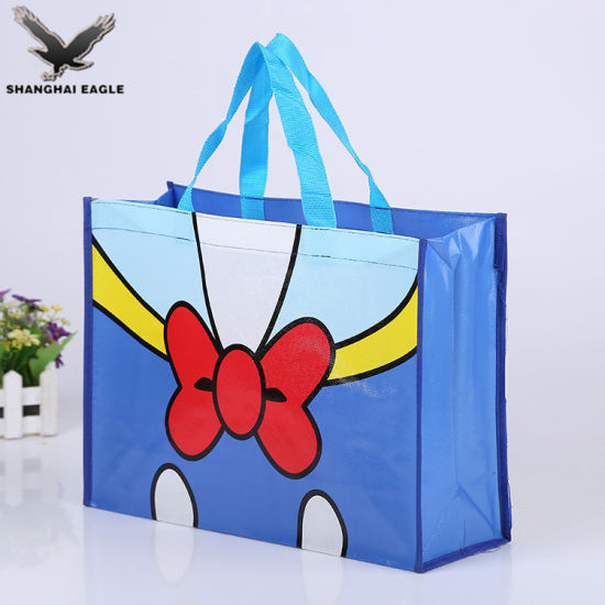 2018 BOPP Matte and Glossy Laminated PP Woven Bag