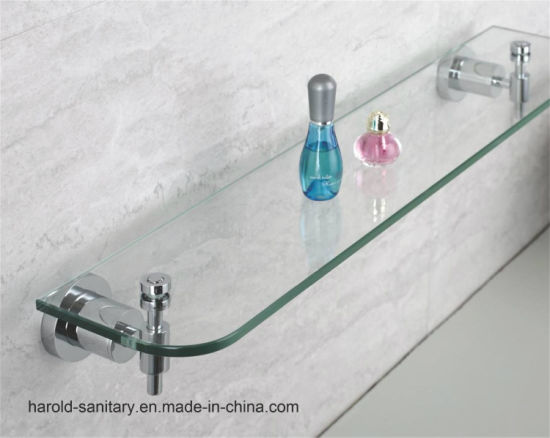 China 29 Series Bathroom Glass Shelf - China Bathroom Accessories ...