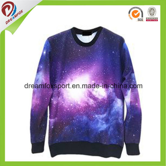 ce4eef405 China Customized Digital Printing Starry Sky Unisex Sweaters Hoodies ...