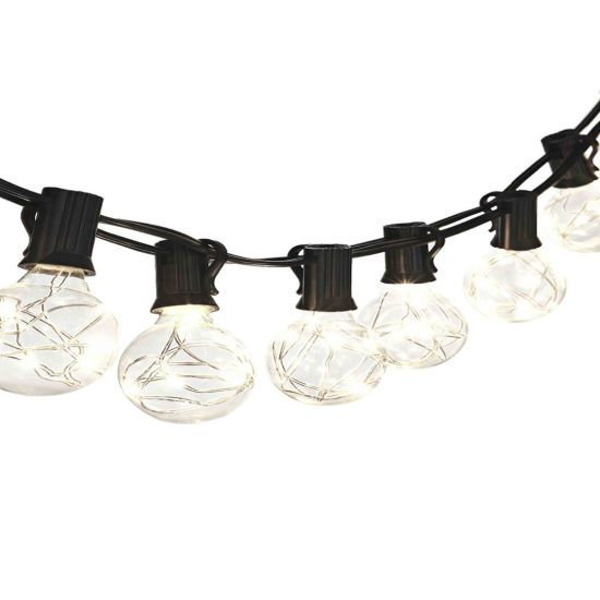 IP65 E27 Black G40 String Light for Garden Wall Decoration pictures & photos