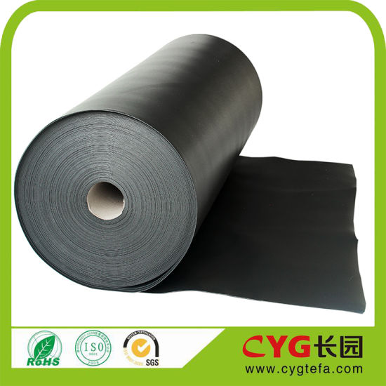 China 10mm Black Closed Cell Foam Waterproof Sound Proofing for Car