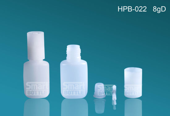 Hopson Hpb-022 8g Hot Selling HDPE Plastic Bottle for Glue