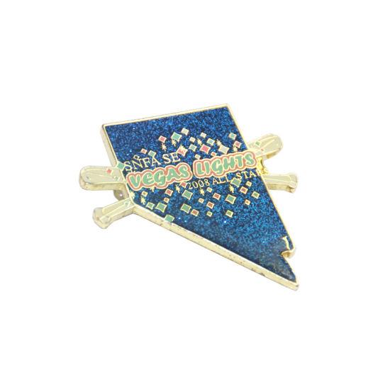 Custom Make Metal Hard Enamel Badge Lapel Pin For Wholesale