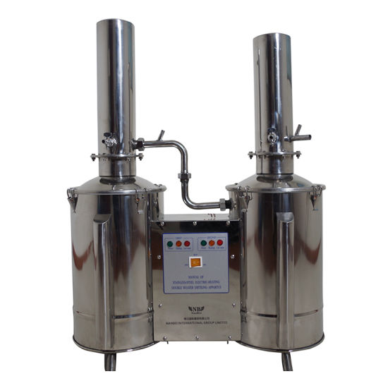 Stainless Steel Automatic Double Distillation Water Distiller pictures & photos