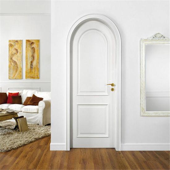 Prima 6 Panel Interior Doors White Primer Bathroom Wooden Door