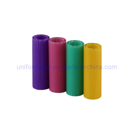 Plastic Core for Thermal Paper Colorful PE Rolling Ture Core