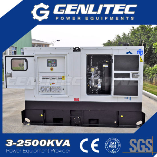 China 24kw/30kVA Silent Diesel Generator with UK Perkins